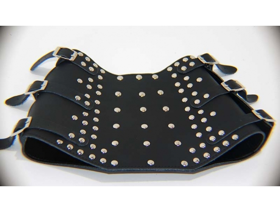 BDStyle, Buckle Up Leather Wrist Cuffs
