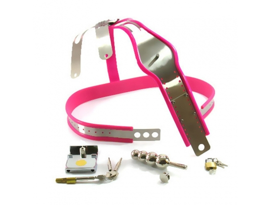 Female Chastity Belt With Plug