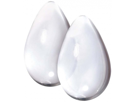 Crystal Large Premium Glass Eggs