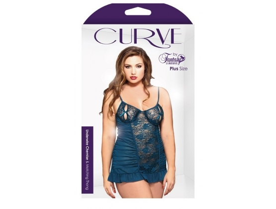 Curve Underwire Chemise and Matching Thong