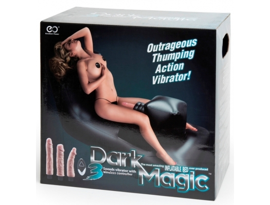 Dark Magic Inflatable Bed with Thruster