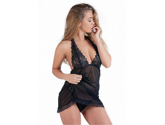 De Namour Babydoll Set With G-String
