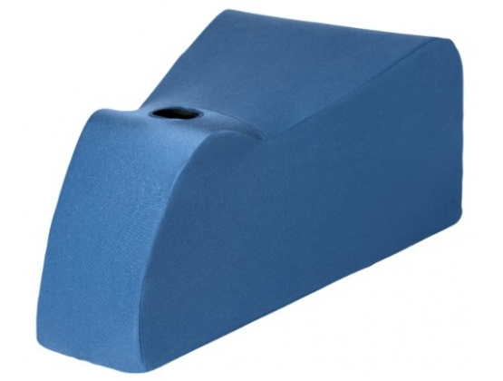 Deluxe Ecsta-Seat Wand Positioning Cushion Blue