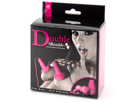 Double Double Silicone Nipple and Clit Teasers