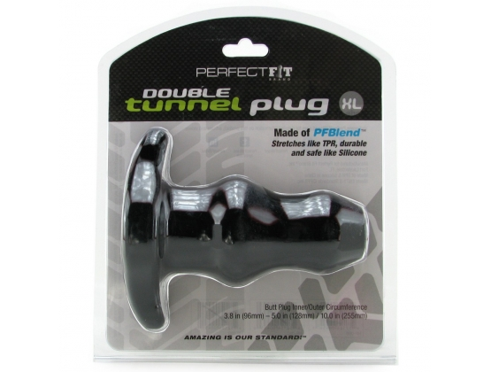 Perfect Fit Double Tunnel Plug X-large