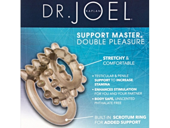 Dr. Joel Kaplan Support Master Double Pleasure