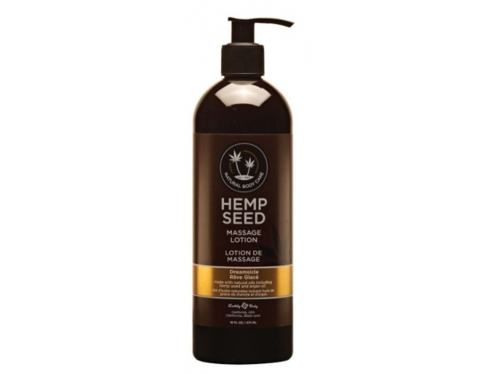 Earthly Body Hemp Seed Massage and Body Oil Dreamsicle 237 ml