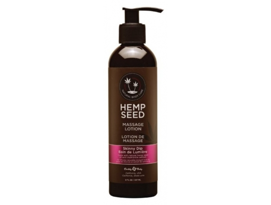 Earthly Body Hemp Seed Massage and Body Oil Skinny Dip 237 ml