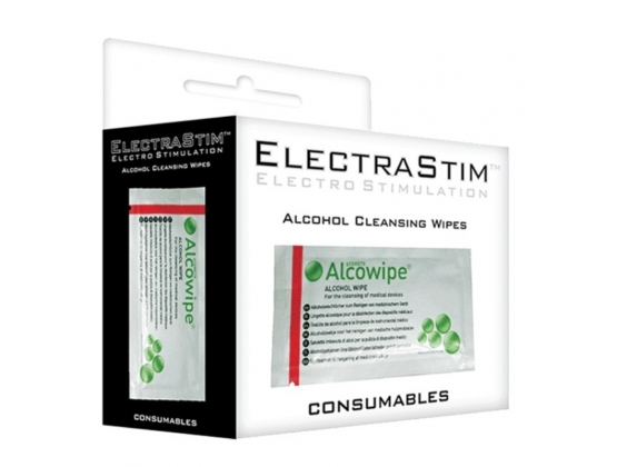 Electrastim Alcohol Cleansing Wipes