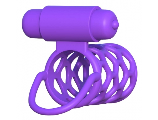 Fantasy C-Ringz Vibrating Couples Cage