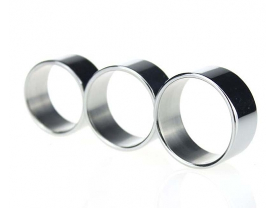 Fashion Mens Stainless Steel Cock Ring