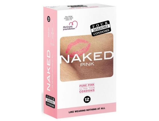 Four Seasons Naked Pink 12 pack