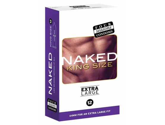Four Seasons Naked King Size 12 pack