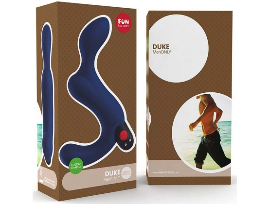 Fun Factory Duke Prostate Massager Blue