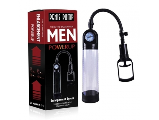 Gauge Penis Pump - Pull Rod