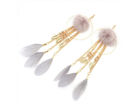Dreamcatcher Feather Nipple Clamps