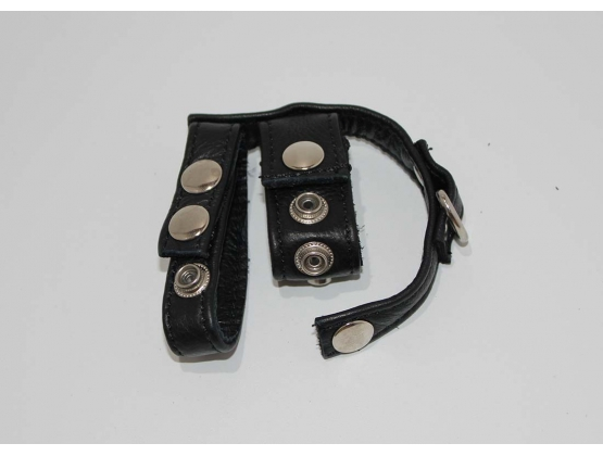 Ruperthuse Leather Cock Ring and Ball Harness