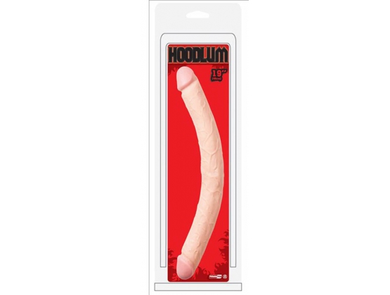 "Hoodlum 19"" Double Dong Flesh"