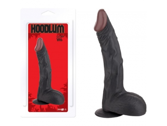 "Hoodlum 11"" Suction Cup Dong"