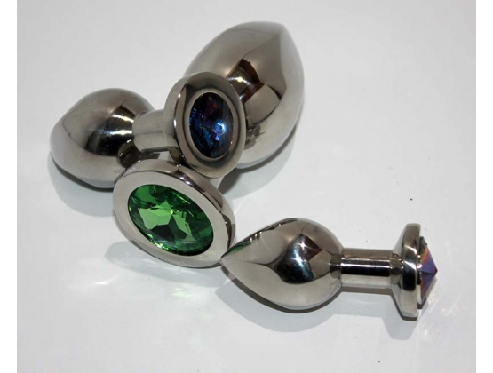 Helix Jewelled Small Anal Plug