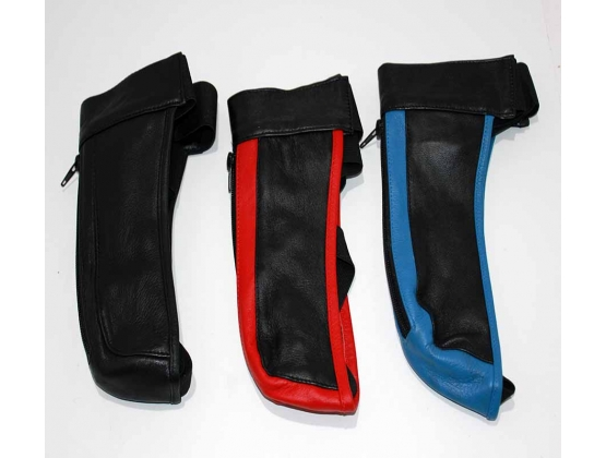 JAX Leather Jocks Black & Red