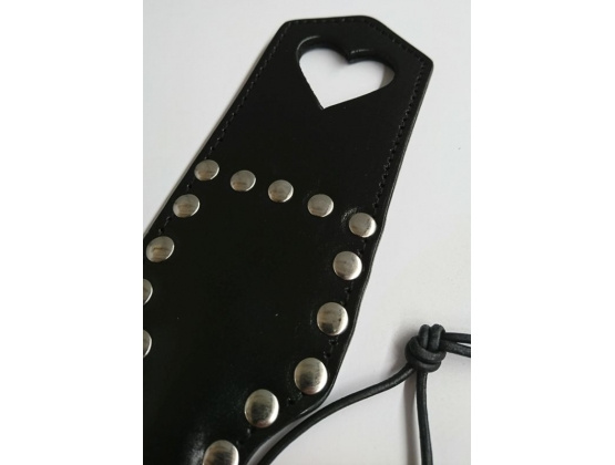 Inxtasy Discipline Paddle with Heart Cut Out