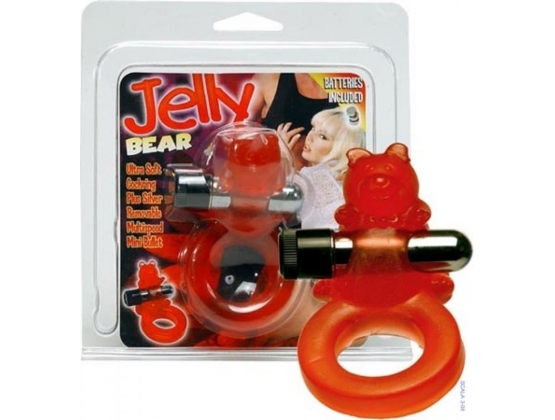 Jelly Bear Cockring