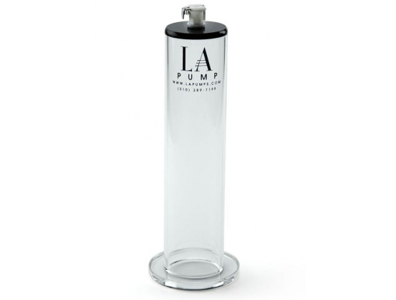 "LA Pump Penis Enlargement Oval Cylinder 9"" Length"