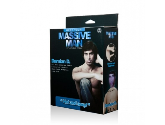 Massive Man Inflatable Doll Damian D