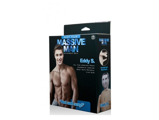 Massive Man Inflatable Doll Eddy S