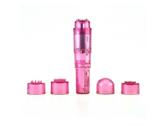 Pocket Pleasure Vibrator & Attachments