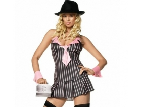 Miss Mafia Sexy Adult Costume