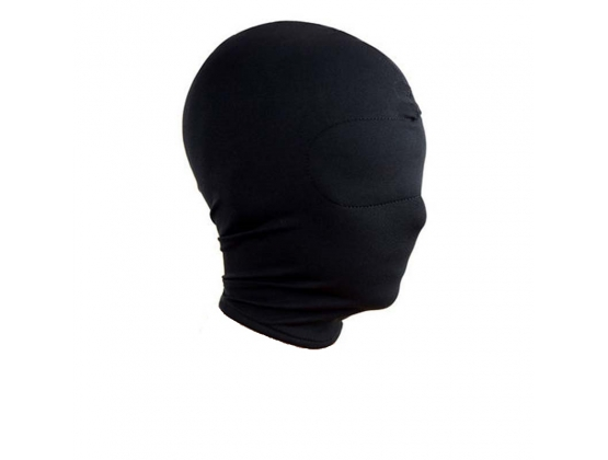 Spandex Hood With Padded Blindfold