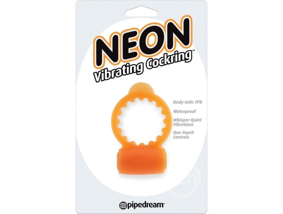 Neon Vibrating Cock Ring