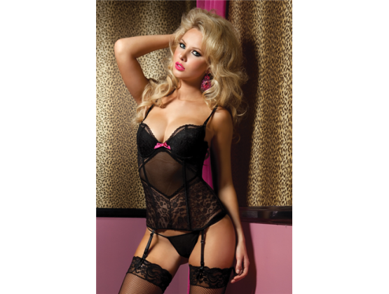 On The Prowl Bustier & Thong