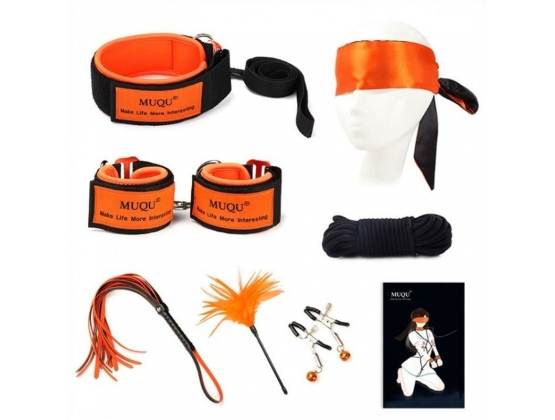 Orange Color Bondage Kit