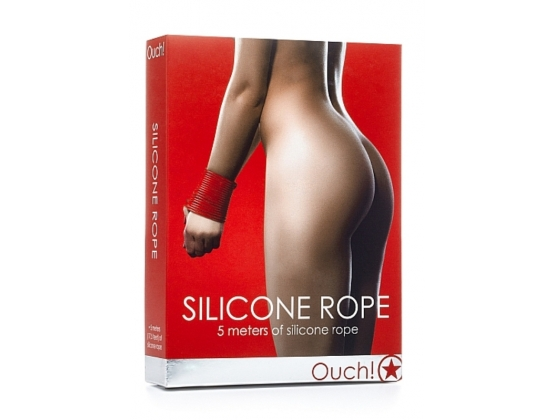 Ouch! Silicone Rope 5m Red