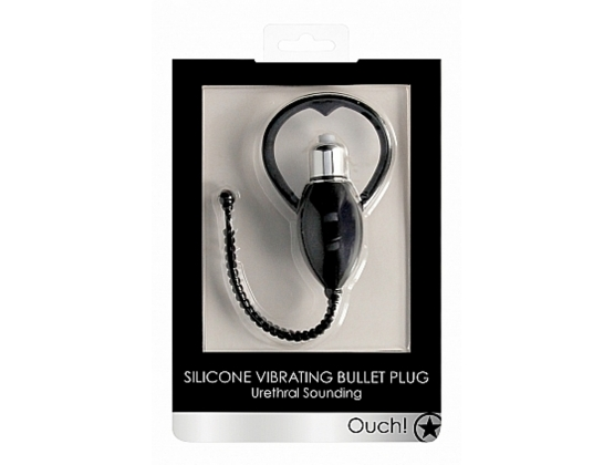 Ouch! Urethral Sounding Vibrating Bullet Plug