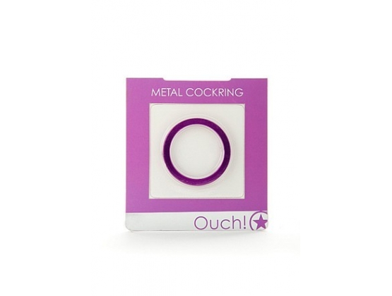 Ouch Metal Cock Ring
