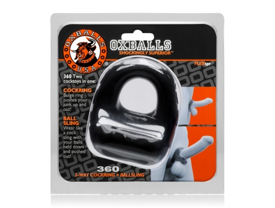 Oxballs 360 2-Way Cock Ring and Ball Sling