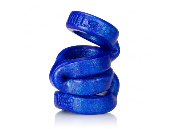 Oxballs 4-Ball Cock Ring With 3 Ballstretcher O/S