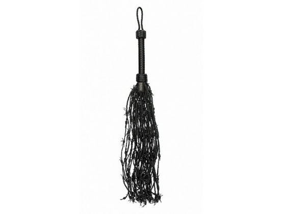 Pain Leather Barbed Wire Flogger