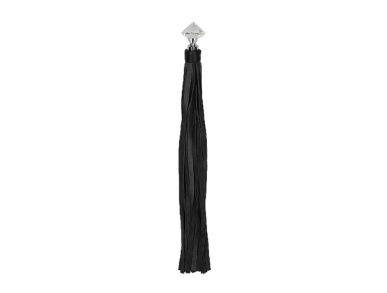 Pain Sparkling Pointed Handle Leather Flogger