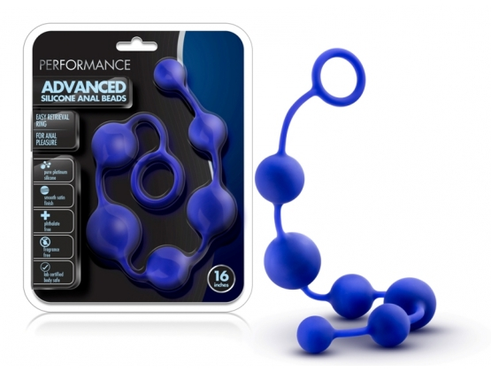 Performance 16 inch Advanced Silicone Anal Beads