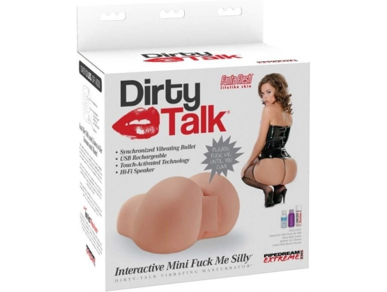 Pipedream Extreme Dirty Talk Interactive Mini Fuck Me Silly