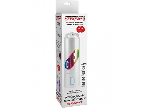 Pipedream Extreme Rechargeable Roto-Bator Pussy