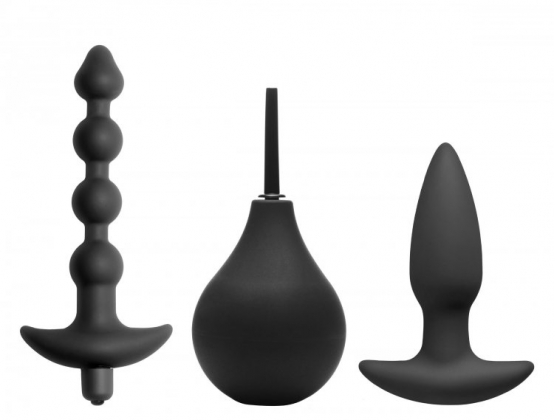 Prevision 4 Piece Silicone Anal Kit