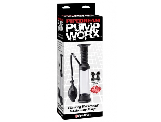 Pump Worx Vibrating Waterproof Suction-Cup Pump