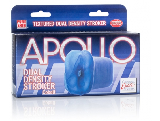 Apollo Dual Density Stroker Blue