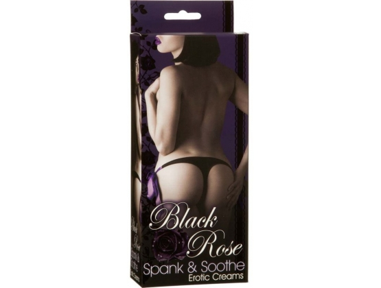Black Rose Spank and Soothe Erotic Creams